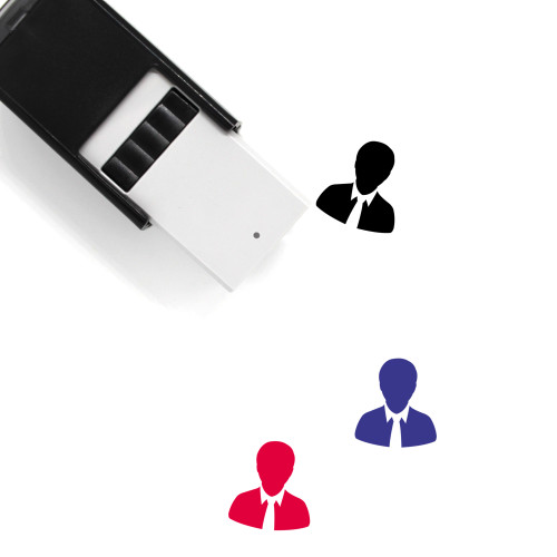 """""""User"""" self-inking rubber stamp with 3 sample imprints of the image"""