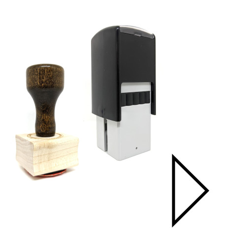 """""""Next"""" rubber stamp with 3 sample imprints of the image"""