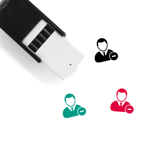 Remove User Self-Inking Rubber Stamp No. 9