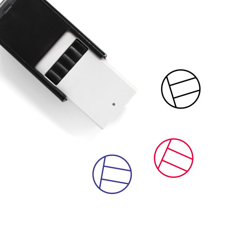 UAE Flag Self-Inking Rubber Stamp No. 1