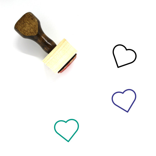 Love Wooden Rubber Stamp No. 152