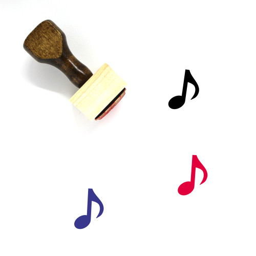 Music Venue Wooden Rubber Stamp No. 1