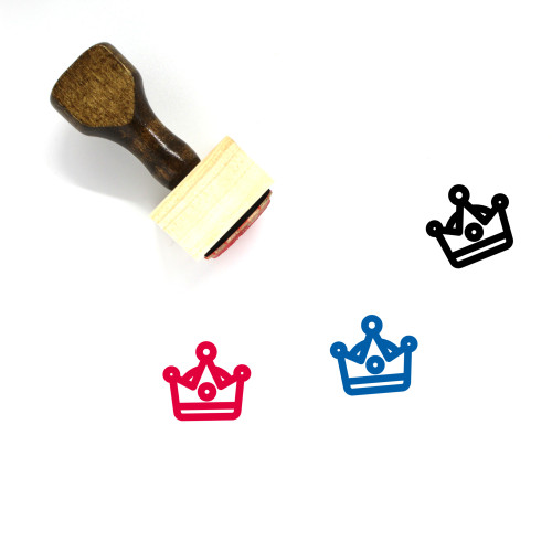 King Wooden Rubber Stamp No. 178