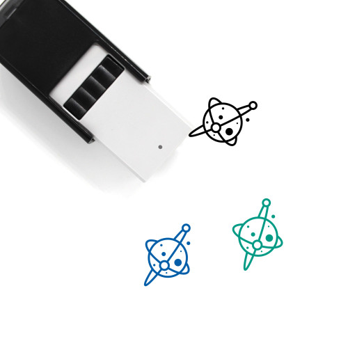 Space Self-Inking Rubber Stamp No. 1