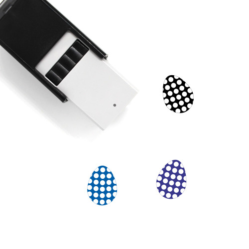 Easter Egg Self-Inking Rubber Stamp No. 130