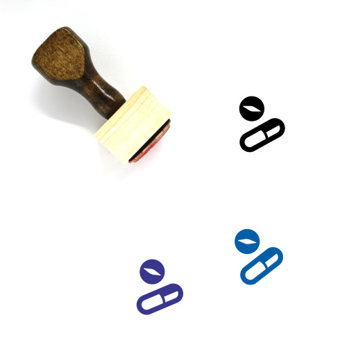 Pharmacy Wooden Rubber Stamp No. 2