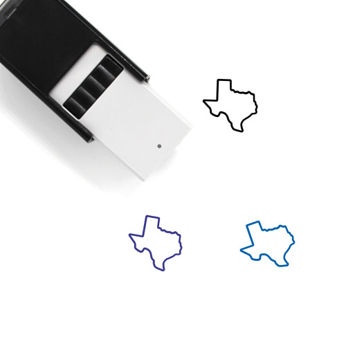 Texas Self-Inking Rubber Stamp No. 13