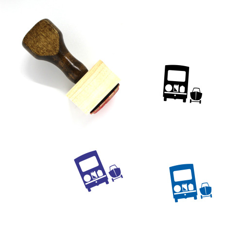 Recreational Vehicles Wooden Rubber Stamp No. 1