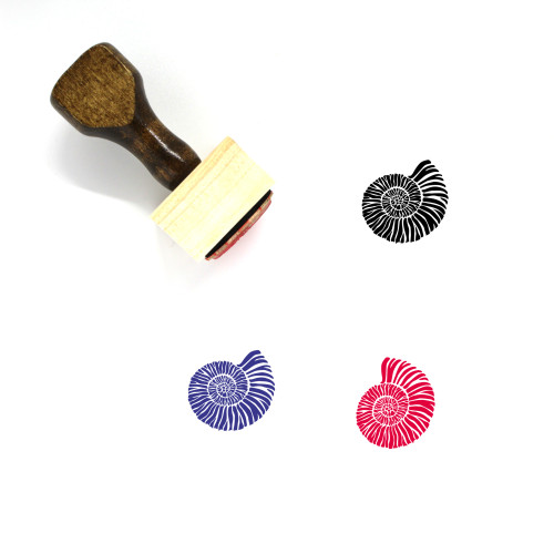 Fossil Wooden Rubber Stamp No. 1