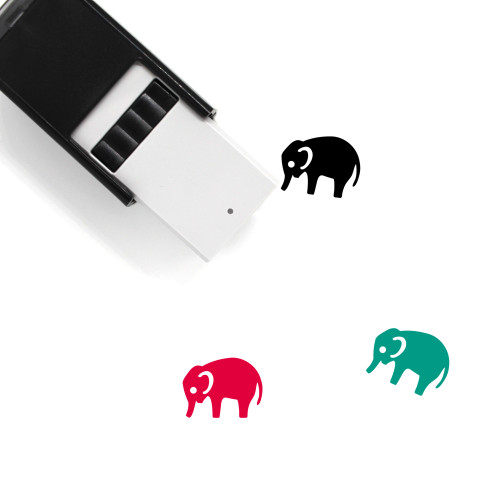Zoo Self-Inking Rubber Stamp No. 2