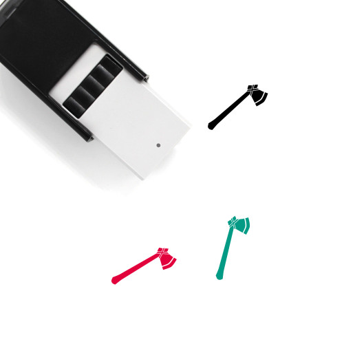 Axe Self-Inking Rubber Stamp No. 14