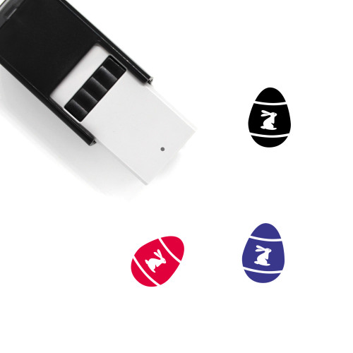 Easter Egg Self-Inking Rubber Stamp No. 143