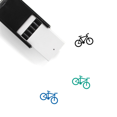 Bicycle Self-Inking Rubber Stamp No. 20