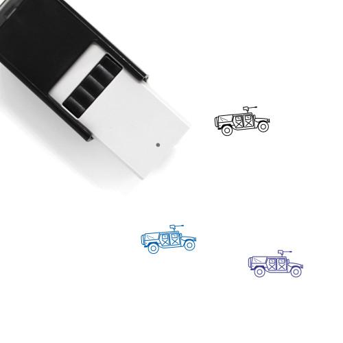 Hummer Self-Inking Rubber Stamp No. 1