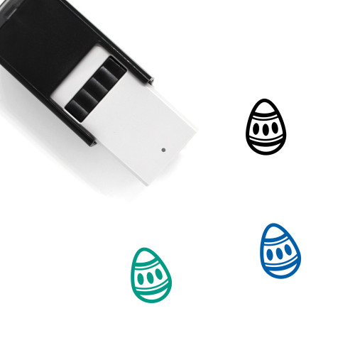 Easter Egg Self-Inking Rubber Stamp No. 145
