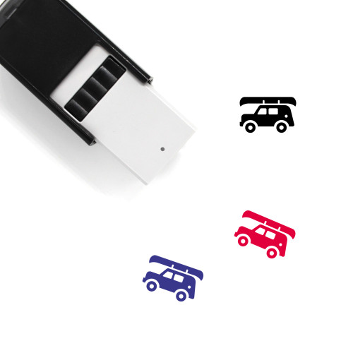 Jeep Self-Inking Rubber Stamp No. 13