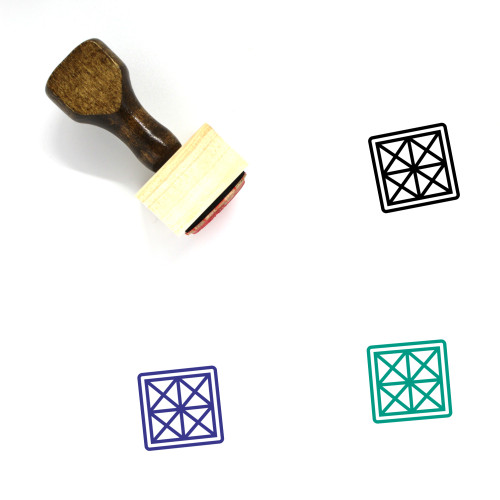 Year Wooden Rubber Stamp No. 5