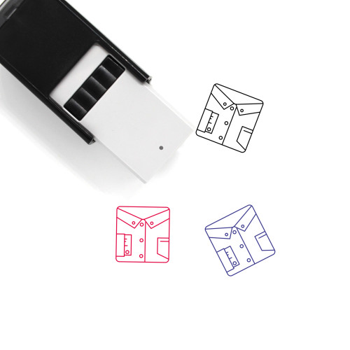 Shirt Self-Inking Rubber Stamp No. 34