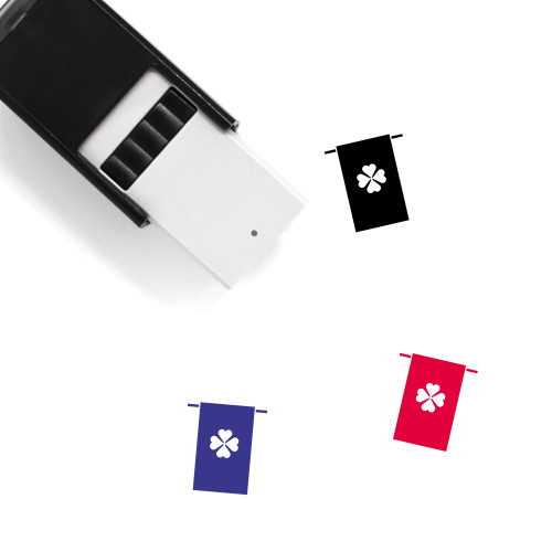 Clover Banner Self-Inking Rubber Stamp No. 27