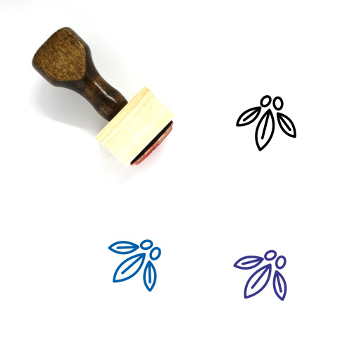 Miracle Berry Wooden Rubber Stamp No. 4