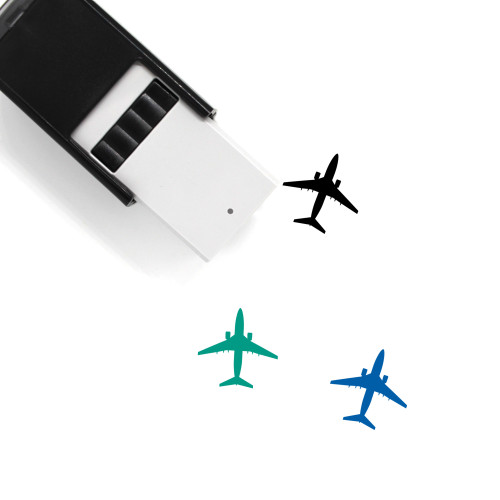 Airplane Self-Inking Rubber Stamp No. 94