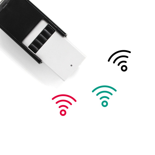 Wifi Self-Inking Rubber Stamp No. 30