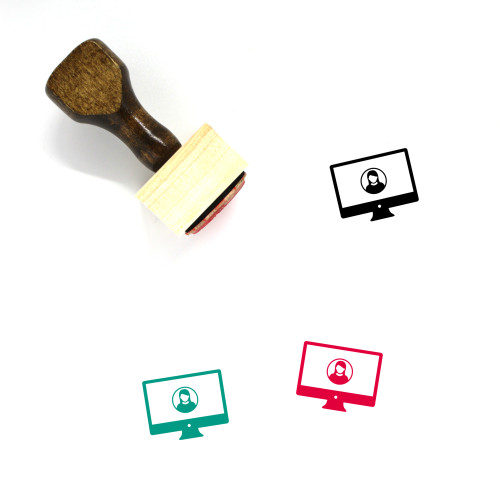 User Wooden Rubber Stamp No. 240