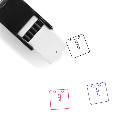 Tshirt Self-Inking Rubber Stamp No. 63