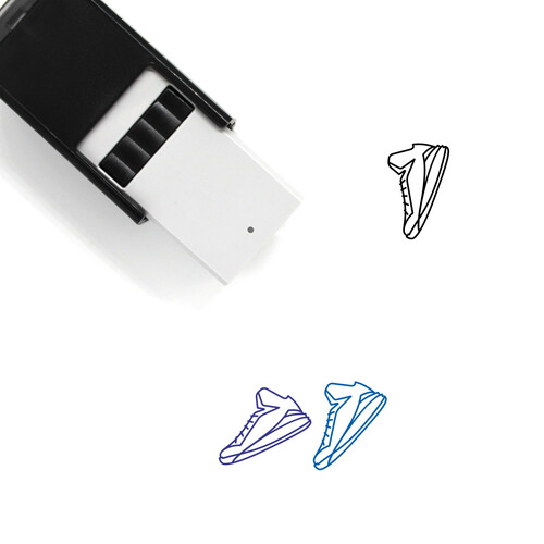 Sneakers Self-Inking Rubber Stamp No. 1
