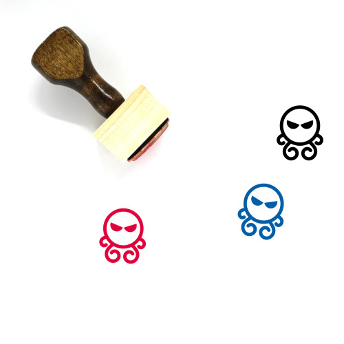 Cthulhu Wooden Rubber Stamp No. 1