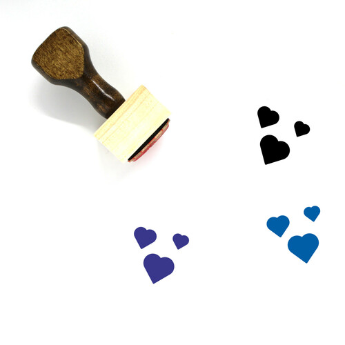 Love Wooden Rubber Stamp No. 199