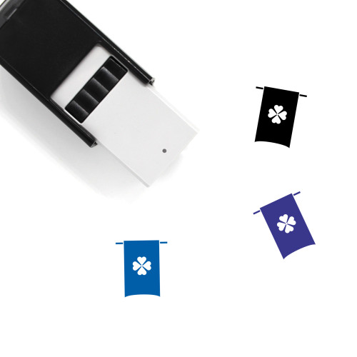 Clover Banner Self-Inking Rubber Stamp No. 29