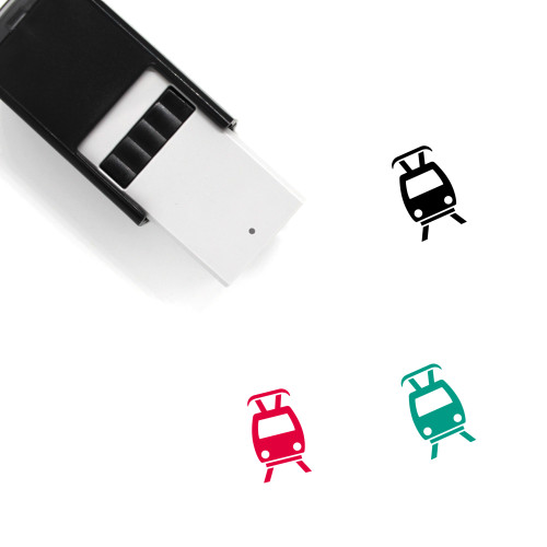 Tram Station Self-Inking Rubber Stamp No. 1