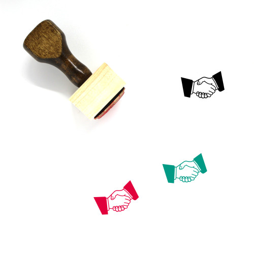 Agreement Wooden Rubber Stamp No. 2