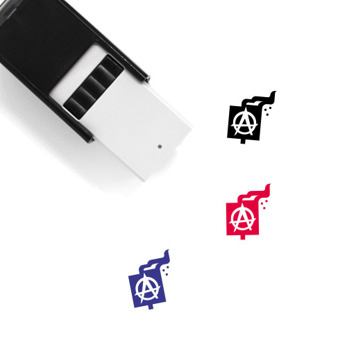 Anarchy Self-Inking Rubber Stamp No. 2
