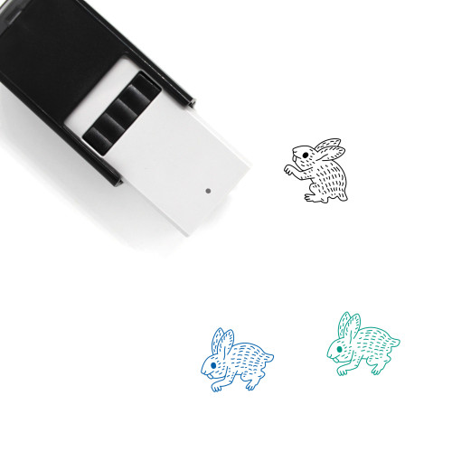 Rabbit Self-Inking Rubber Stamp No. 65