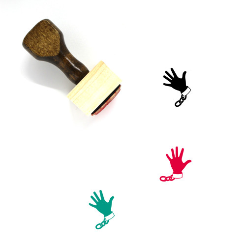 Slavery Wooden Rubber Stamp No. 2