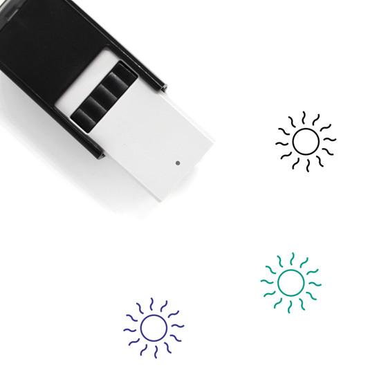 Sun Self-Inking Rubber Stamp No. 128