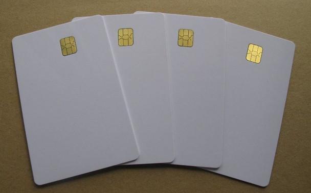 White Smart Cards, SLE5542, SLE4442 (Packs of 20 cards)