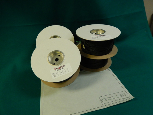 Rayx® PETube - Braided Sleeving BULK 200' Spools