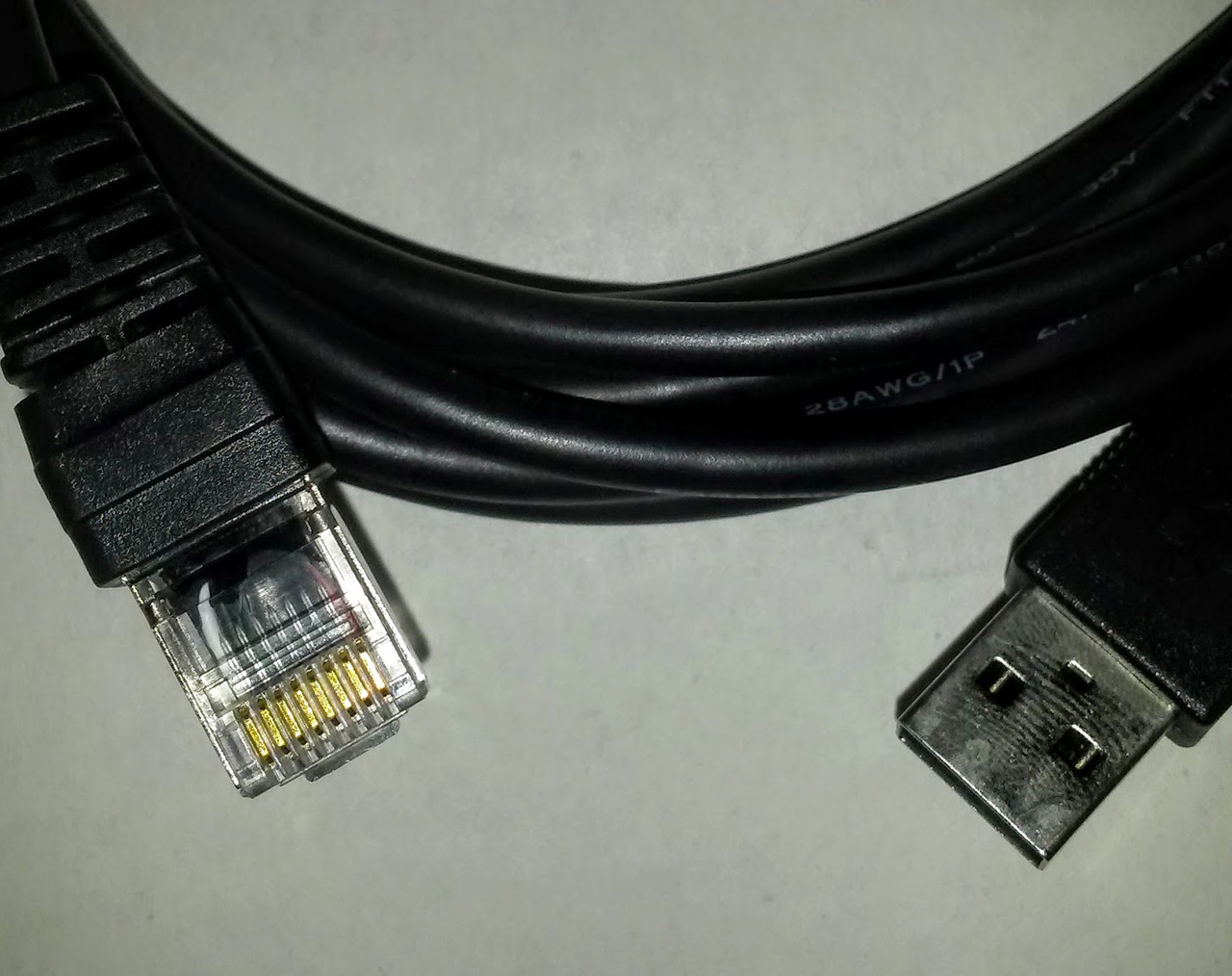 QRS Card PC Cable