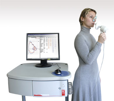 Spirometry Lab Cosmed Quark Spiro