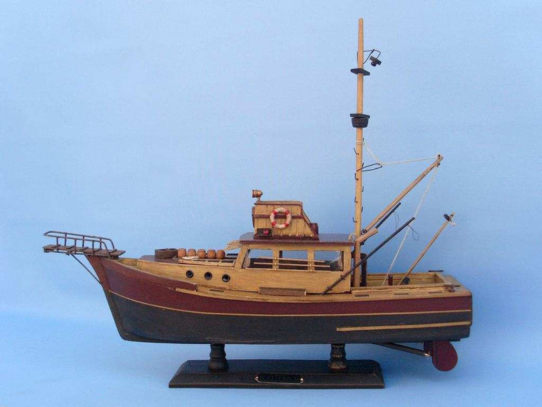 """Wooden Jaws - Orca Model Boat 20"""""""