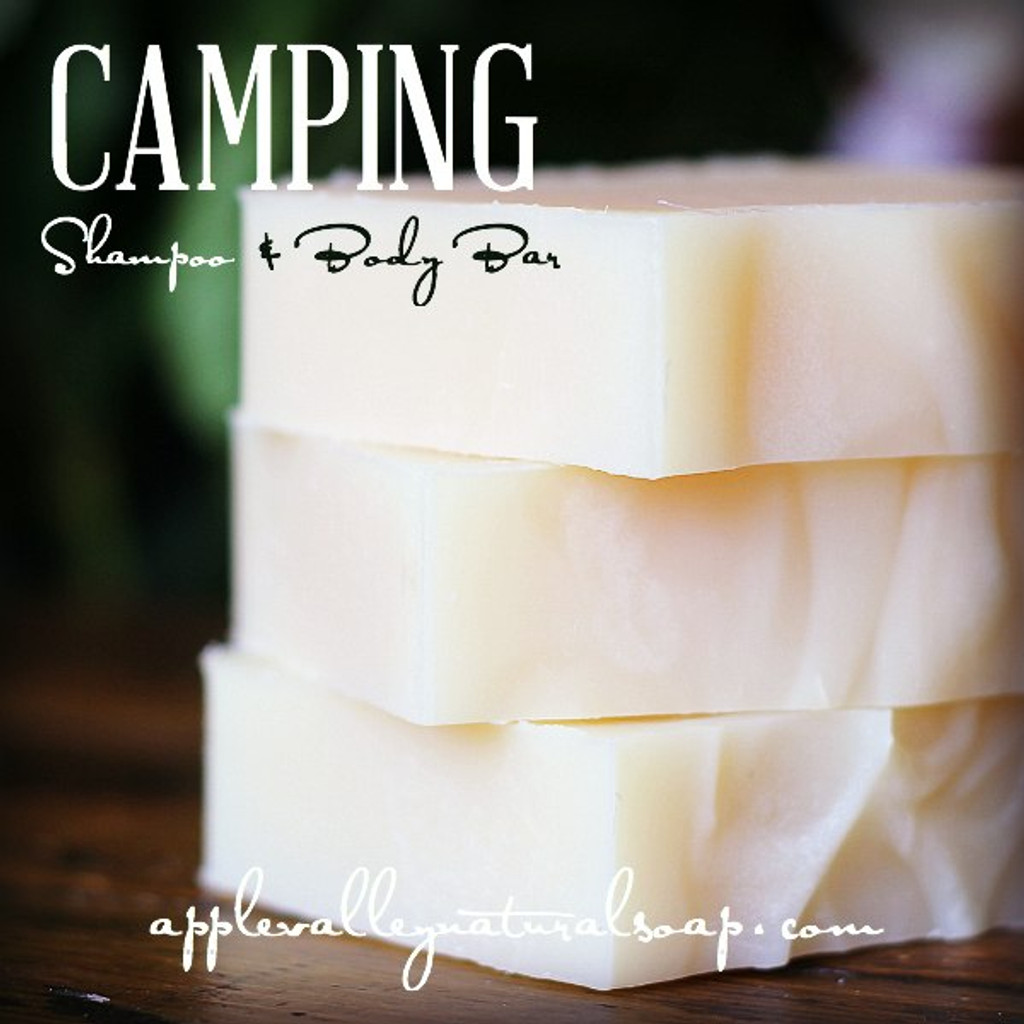 Camping Shampoo and Body Bar by Apple Valley Natural Soap