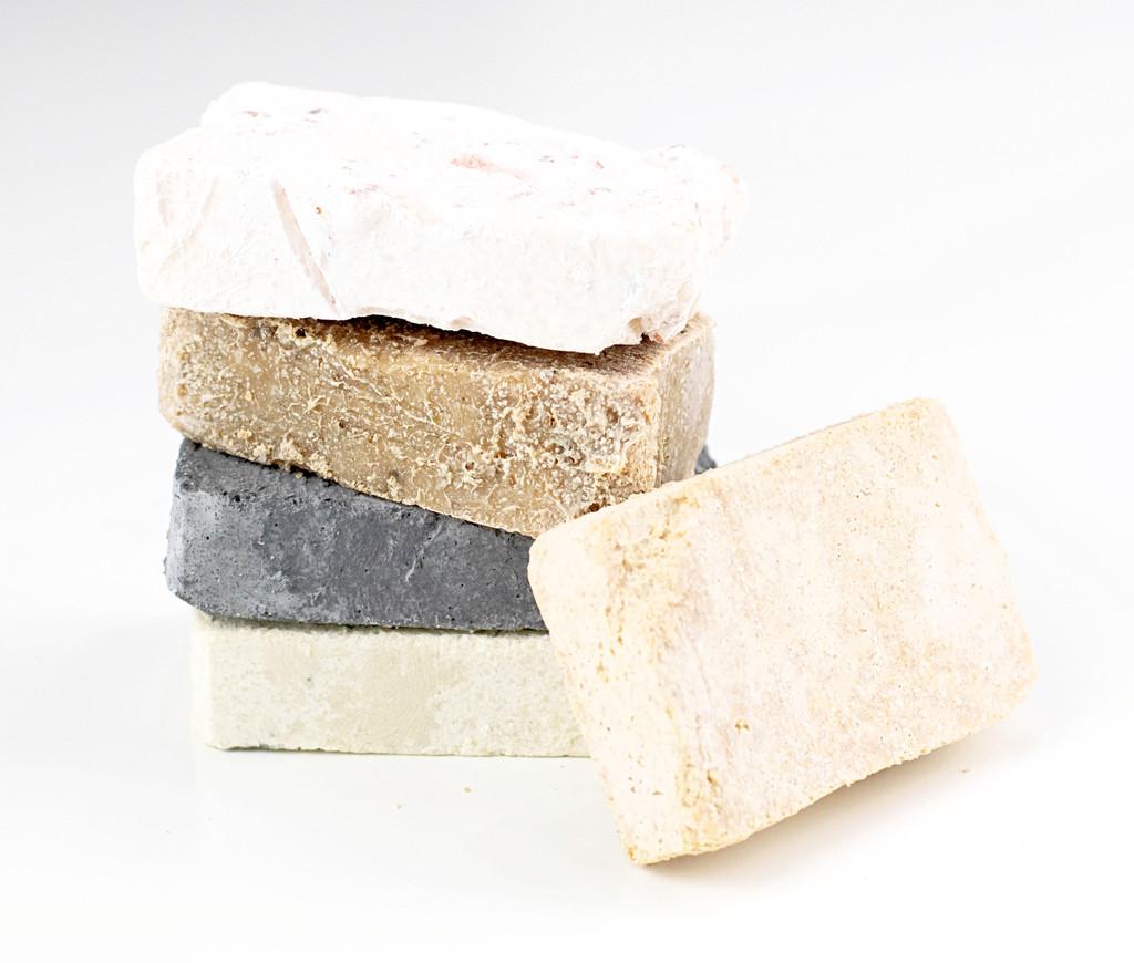 Salt bar Samples by Apple Valley Natural Soap