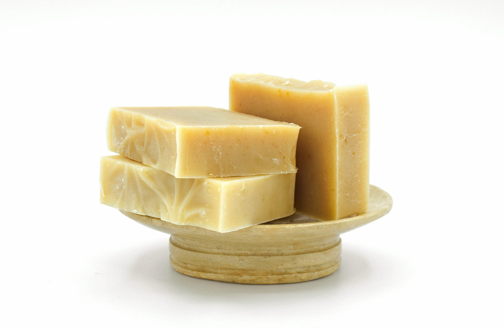Wheat and Honey Almond Shampoo and Body Bar by Apple Valley Natural Soap