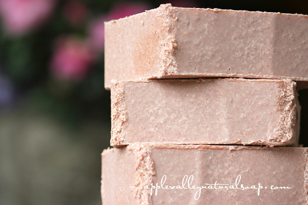 Rose Geranium Salt Bar by Apple Valley Natural Soap