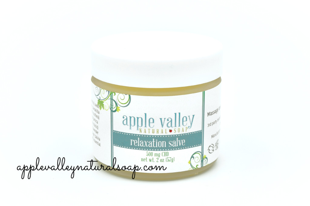 Pain Relief Relaxation Salve by Apple Valley Natural Soap