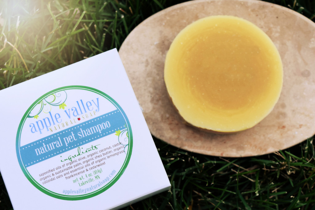 Pet Shampoo by Apple Valley Natural Soap