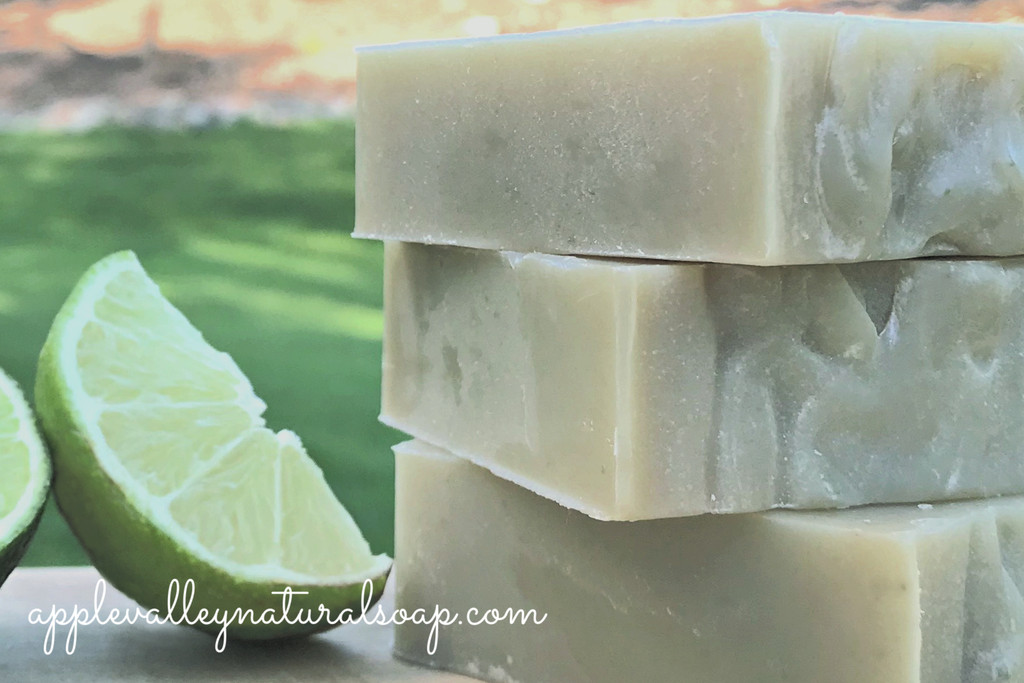 Key Lime Shampoo and Body Bar by Apple Valley Natural Soap